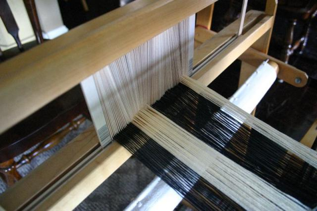 ondule reed in loom