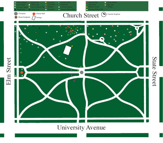 West Side Park Map - 1998-99